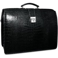 Croco Collection Classic Leather Briefbag 2505