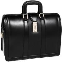"Morgan 17"" Leather Litigator Laptop Brief"