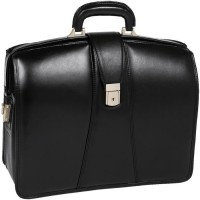 "Harrison 15.6"" Leather Partners Laptop Briefcase"